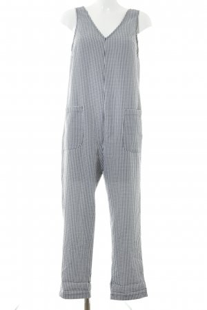 Topshop Jumpsuit black-white check pattern casual look