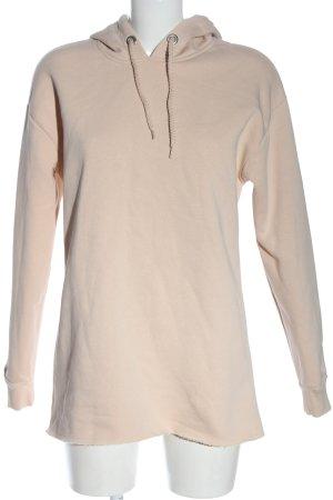 Topshop Kapuzensweatshirt nude Casual-Look