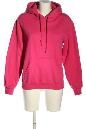 Topshop Kapuzensweatshirt pink Casual-Look
