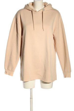 Topshop Hooded Sweatshirt nude casual look