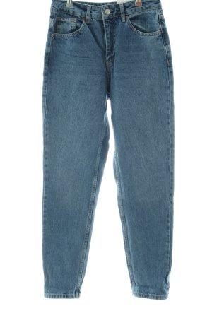 Topshop Karottenjeans blau Casual-Look