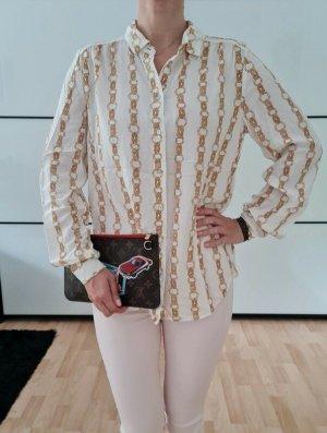 Topshop Blusa de manga larga multicolor Algodón
