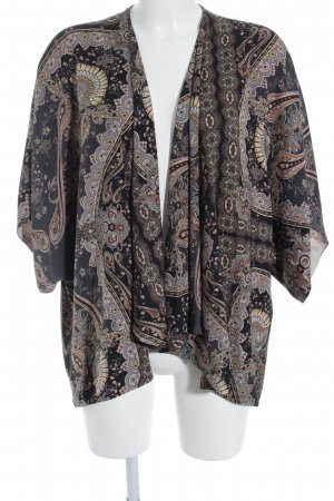 Topshop Kimono-Bluse mehrfarbig Casual-Look