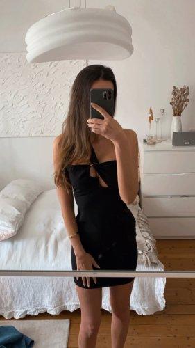 Topshop Kleid Bandeau Bodycon Party Cut Zara Out Schwarz