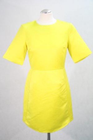 Topshop Kleid in Neongelb