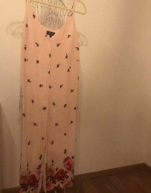 Topshop Kleid rosa mit Blumen Größe 38