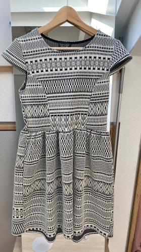Topshop Kleid schwarz weiß