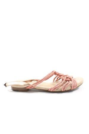Topshop Sandalo comodo rosa stile casual