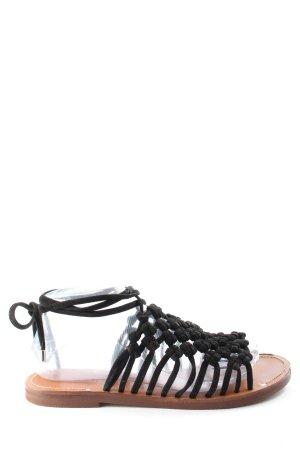 Topshop Komfort-Sandalen schwarz Casual-Look