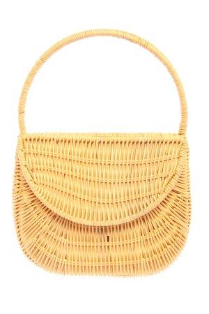 Topshop Bolso tipo cesta color oro look casual