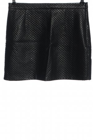 Topshop Faux Leather Skirt black casual look
