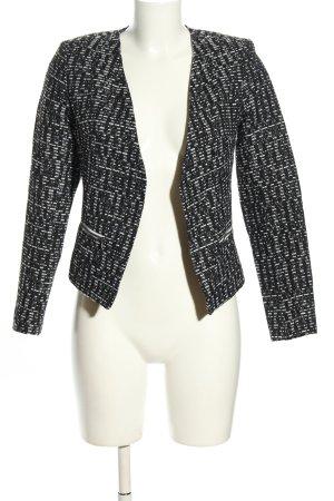 Topshop Kurz-Blazer schwarz-weiß Business-Look
