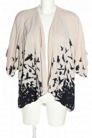 Topshop Short Blazer white-black abstract pattern casual look