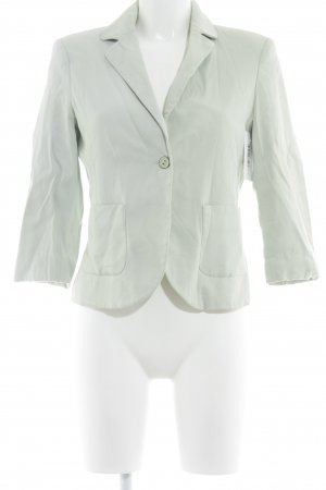 Topshop Kurz-Blazer blassgrün Business-Look