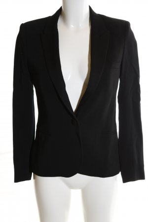 Topshop Kurz-Blazer schwarz Business-Look