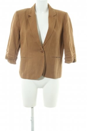 Topshop Kurz-Blazer camel Business-Look