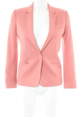 Topshop Kurz-Blazer pink Business-Look