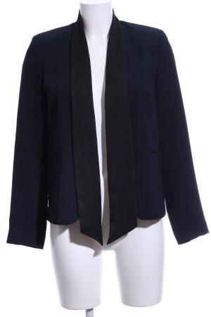 Topshop Kurz-Blazer schwarz-blau Business-Look
