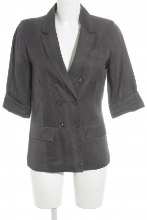 Topshop Kurz-Blazer graulila Business-Look