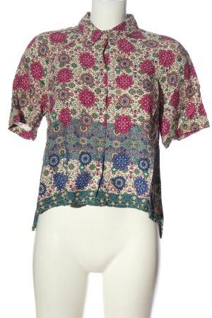Topshop Kurzarmhemd abstraktes Muster Elegant