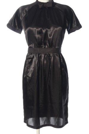Topshop Kurzarmkleid schwarz Elegant