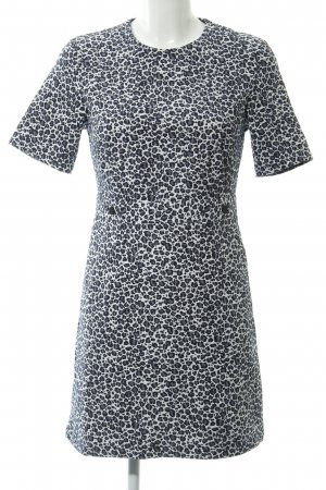 Topshop Kurzarmkleid Animalmuster Casual-Look