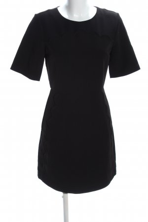 Topshop Kurzarmkleid schwarz Business-Look