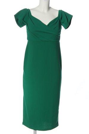 Topshop Kurzarmkleid grün Elegant