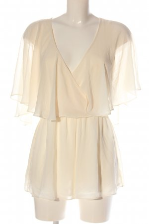 Topshop Kurzer Jumpsuit cream casual look
