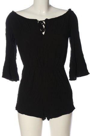 Topshop Kurzer Jumpsuit black casual look