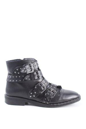 Topshop Korte laarzen zwart casual uitstraling
