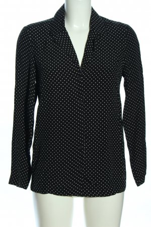 Topshop Long Sleeve Blouse black-white allover print business style