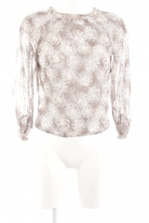 Topshop Langarm-Bluse Blumenmuster Elegant