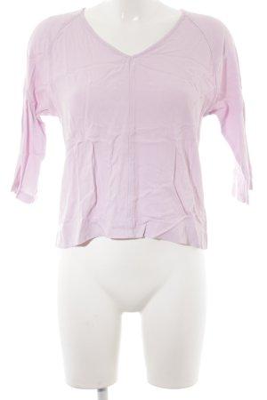 Topshop Langarm-Bluse mehrfarbig Logo-Applikation
