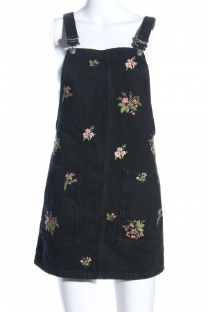 Topshop Pinafore Overall Skirt black casual look