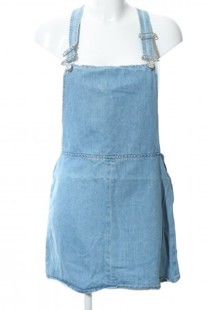 Topshop Pinafore Overall Skirt blue casual look