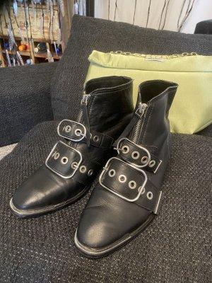 Topshop Leder Stiefeletten 39 Np 129€
