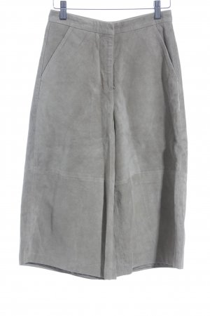 Topshop Lederhose sandbraun Street-Fashion-Look