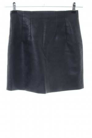 Topshop Leather Skirt black casual look
