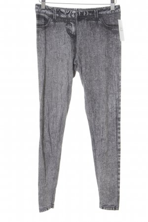 Topshop Leggings dunkelgrau-hellgrau Allover-Druck Casual-Look