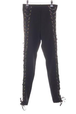 Topshop Leggings schwarz Street-Fashion-Look
