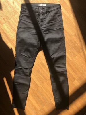 Topshop Leigh Skinny Jeans, schwarz, W28/L30
