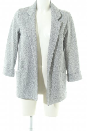 Topshop Long-Blazer hellgrau meliert Business-Look