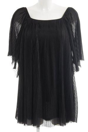 Topshop Long-Bluse schwarz Elegant