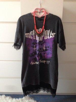 Topshop long Shirt mit spitze wie neu
