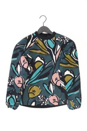 Topshop Longsleeve-Shirt Größe 36 Langarm grün aus Polyester