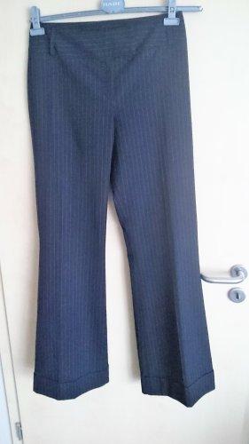 Topshop Spodnie Marlena czarny-biały Poliester