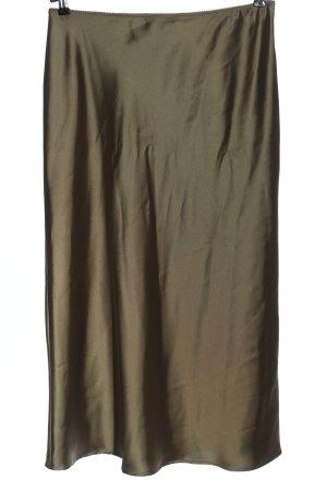 Topshop Maxirock khaki Farbverlauf Elegant