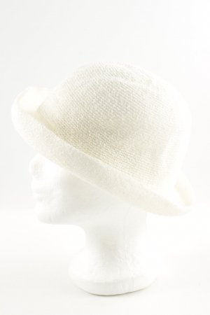 Topshop Bowler Hat natural white casual look