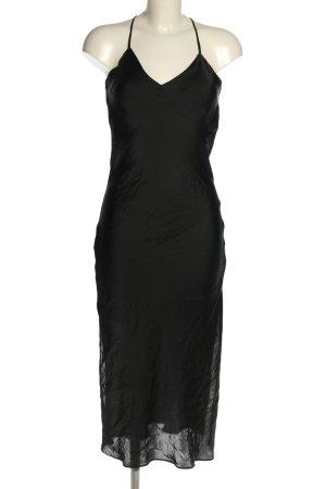 Topshop Vestido a media pierna negro elegante